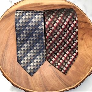 3for$23 classic silk tie bundle of 2